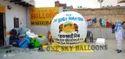 sky balloon manufacturer in Noida (India)