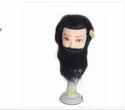 18 Inch Men Human Hair Dummy With Beard
