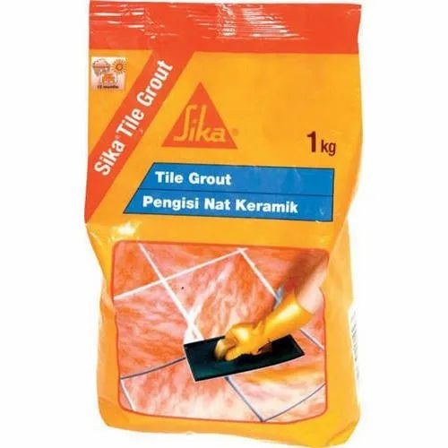 Sika Tile Grout, Packaging Type: Packet