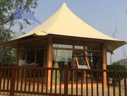 Luxury Iron Glass Pagoda Cottage