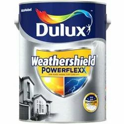 Asian Paints High Gloss Dulux Weathershield Powerflexx Paint, for Interior Walls, Packaging Type: Bucket