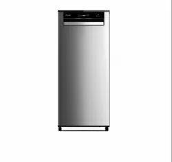 Whirlpool Vitamagic Pro 215L Single Door 3 Star Alpha Steel Refrigerator