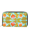 Orange & Green Vintage Hand Embroidered Clutch Bag