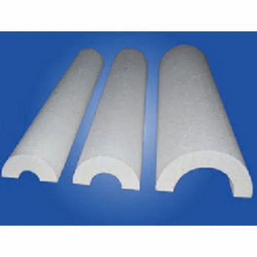 White Thermocol Pipe Section, Size/Dimension: 2x2 Inch, for Insulation