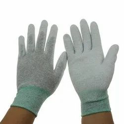 ESD PU PALM FIT GLOVES