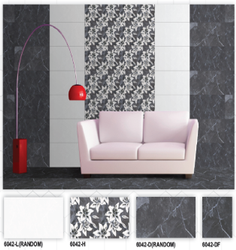 6042 (L, H, D, DF) Hexa Ceramic Digital Wall Tiles