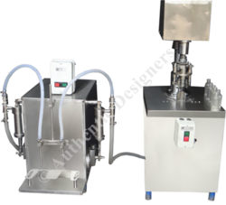Semi- Automatic Liquid Filling and Capping Machine