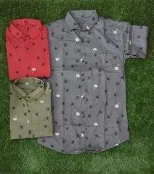 Moongose Cotton Mens Casual Shirts