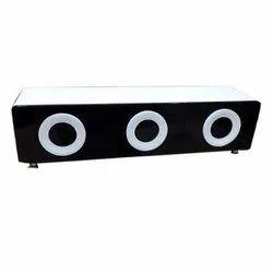 Brown Modern Designer Wooden TV Table, for Home, Size: 2-3 Feet