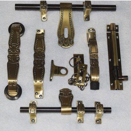 Brass Antique Door Kit At Rs 1750 Set Brass Door Hardware Id