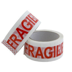 Printed BOPP Tape for Packaging, Size: 1 inch