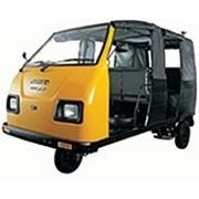 Black Petrol Mahindra Champion Passenger Auto Rickshaw