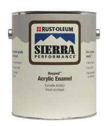 Rust-Oleum Beyond Acrylic Enamel - White Pastel Base - Satin