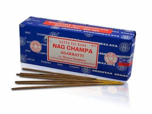 Black Satyasai Nagchampa Incense Sticks