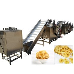Banana Chips Frying Machine