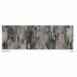 Ceramic Matt Quirky Cobalt Glazed Vitrified Floor Tile, Thickness: 5-10 mm