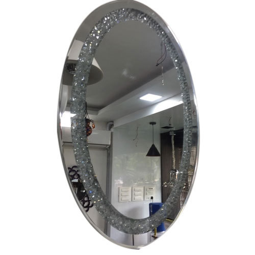 Glass Decorative Mirror 5 To 10 Mm