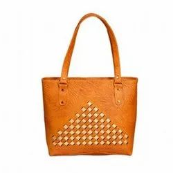 Faisal Raza Leather Ladies Shoulder Bag, Size: 28x39x8 cm
