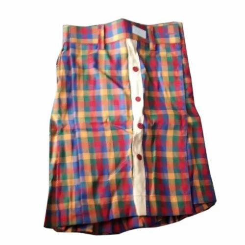 b1f769ef41 Multicolor Cotton Girls School Uniform Check Skirt, Rs 150 /piece ...