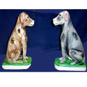 Marble Dog Statue