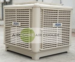 Thunder Off White Industrial Ducting Evaporative Air Cooler