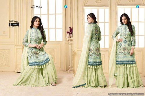 d61dbd073a Pakistani Cotton Sharara Salwar Suits, Rs 995 /piece, Maajisa Group ...