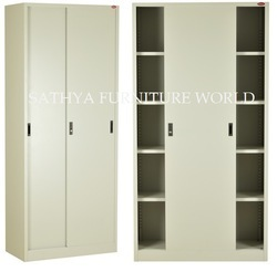 Steel Sliding Door Cupboard