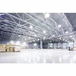 Prefab Mild Steel Industrial Shed