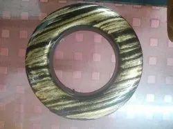 Plastic Round Antique Gold Curtain Ring