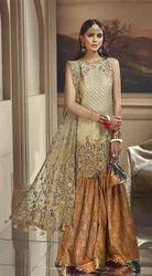 Pakistani Chiffon Bridal Suits