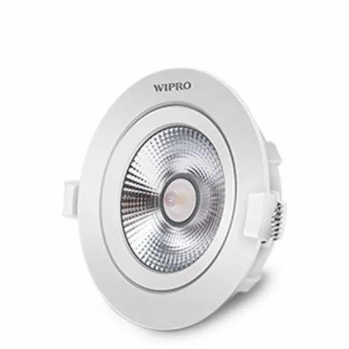 Round Aluminum Wipro 3w LED COB for Indoor