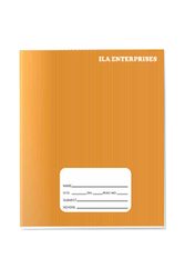 ILA Enterprises Rectangular Subject Notebook, For School,College, Size: 15.3 cm x 18.8 cm