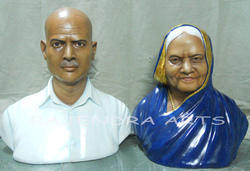 Marble Relegus Human Bust Statues