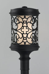 Fancy Gate Lamp