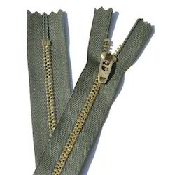 Metal Zipper With Closed End