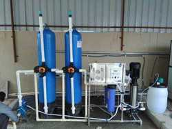 Semi Automatic Industrial RO Plant
