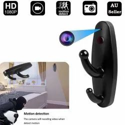 Plastic Day Spy Cloth Hook Camera, For Security, Packaging Type: Box