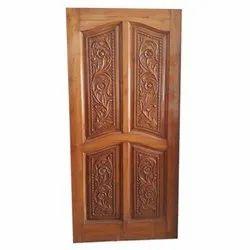 Brown Interior Wooden Door, for Home