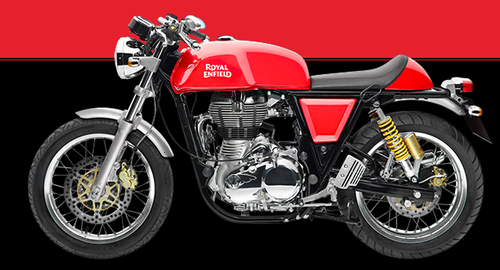 Cafe Racer Motorcycles - Royal Enfield Continental GT