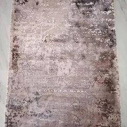 Pihue Creation Rectangular Handmade Silk Carpet, For Floor, Size: 9x12 Feet