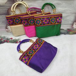 Cotton Embroidery Ladies Bags