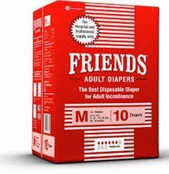 Friends Hospital Adult Diapers Medium