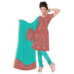 Fancy Designer Bandhani Suit
