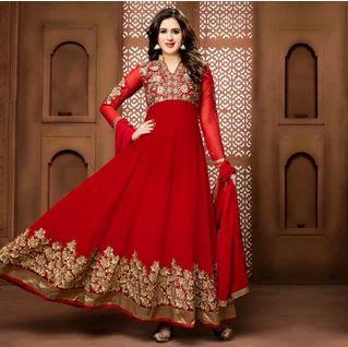 f20ec7fa06 Gorgeous Red Anarkali Dress at Rs 2500   Anarkali Suits   ID ...