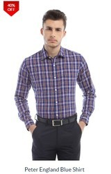 PE Purple Check Shirt
