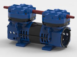 Lab Filtration Diaphragm Vacuum Pump SD-15-DS, Max Flow Rate: 15 Liter Per Minute