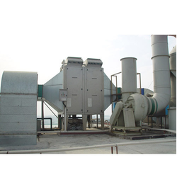 Two Stage Electrostatic Precipitator