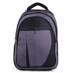 Polyester Plain Boys School Backpack Bag