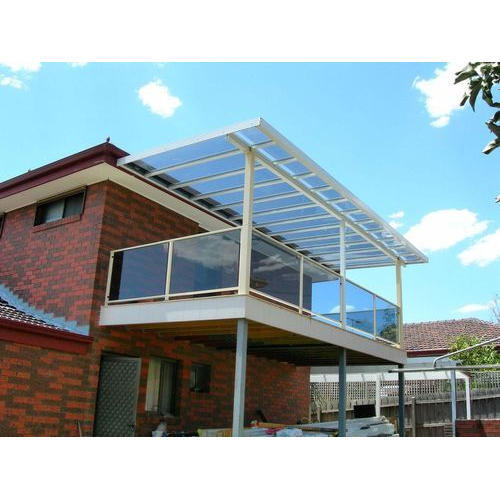 PVC Polycarbonate Canopy Rs 500 square feet Kimtee