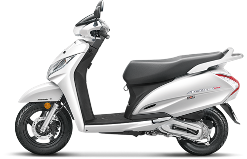 Pearl Amazing White Honda Activa 125 Drum Scooter Rs 59656 Piece